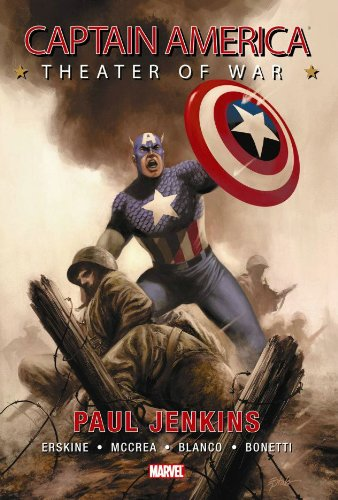 Captain America: Theater Of War Cover