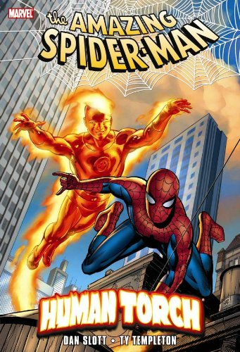 Spider-Man And The Human Torch Cover