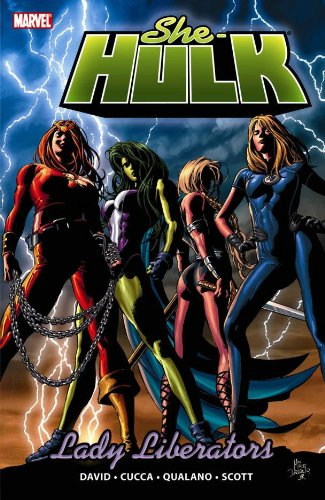 She-Hulk Vol. 9: Lady Liberators Cover