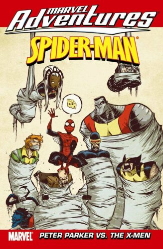 Marvel Adventures Spider-Man Vol. 15: Peter Parker vs. The X-Men Cover