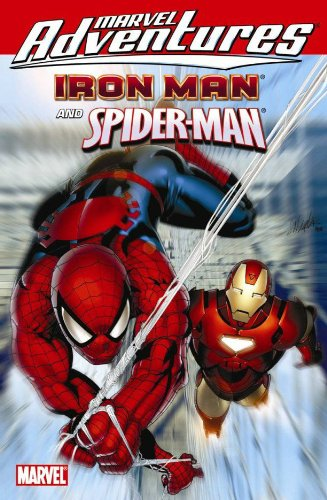 Marvel Adventures Iron Man / Spider-Man Cover