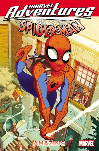Marvel Adventures Spider-Man: Amazing Cover