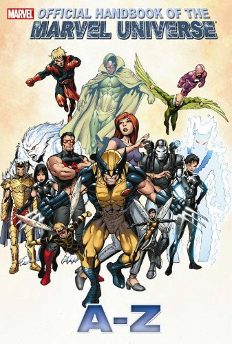 All New Official Handbook Of The Marvel Universe A - Z  Vol. 13 Cover