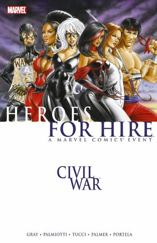 Civil War: Heroes For Hire Vol. 1  Cover