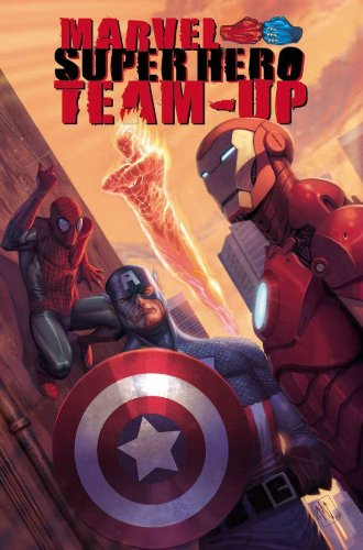 Marvel Super Hero Team-Up Cover