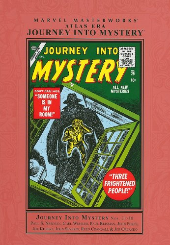 Marvel Masterworks: Atlas Era Journey Into Mystery Vol. 3  Cover