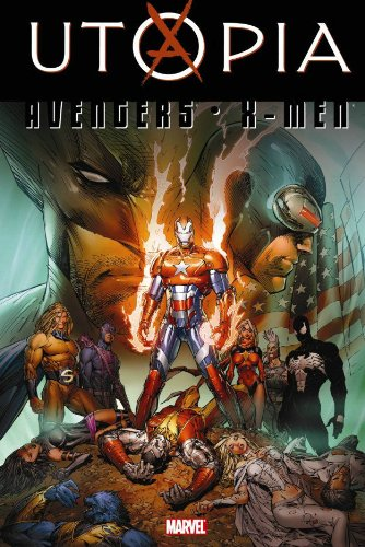 Dark Avengers / Uncanny X-Men: Utopia Cover