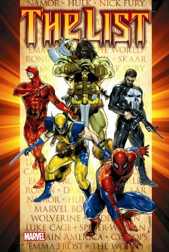 Dark Reign: The List Cover