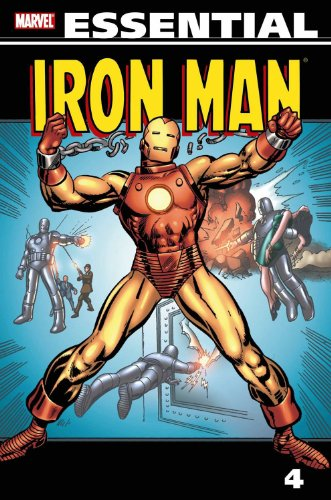 Essential Iron Man Vol. 4 Cover