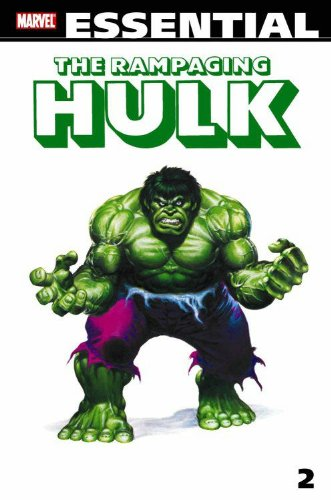 Essential The Rampaging Hulk Vol. 2  Cover