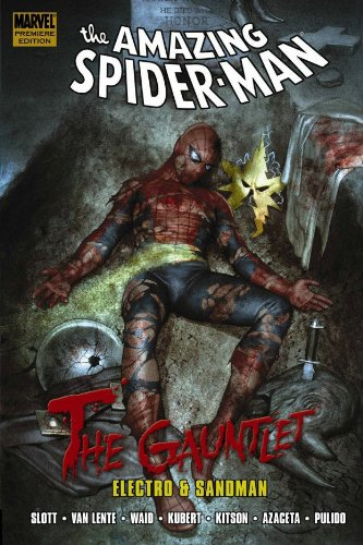 Spider-Man: The Gauntlet Book 1: Electro And Sandman Cover