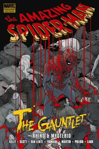 Spider-Man: The Gauntlet Book 2: Rhino And Mysterio Cover