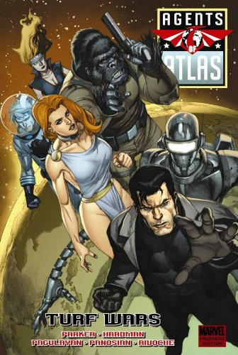 Agents Of Atlas: Turf Wars Cover