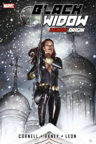 Black Widow: Deadly Origin Cover