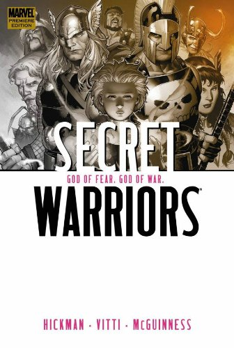 Secret Warriors Vol. 2: God Of Fear, God Of War Cover