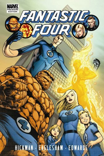Fantastic Four by Jonathan Hickman Vol. 1 Cover