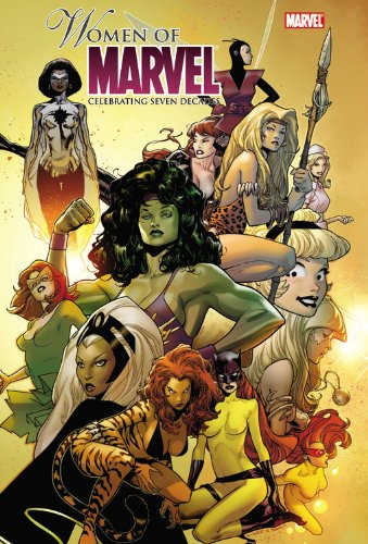 Women Of Marvel: Celebrating Seven Decades Omnibus Cover