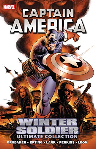 Captain America: Winter Soldier Ultimate Collection Cover
