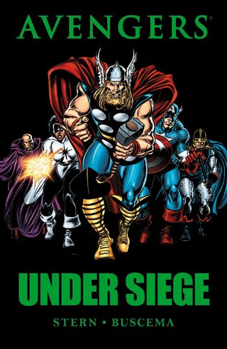 Avengers: Under Siege Cover