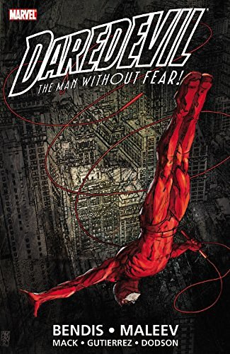 Daredevil Ultimate Collection 1 Cover