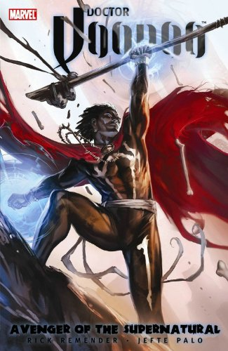 Doctor Voodoo: Avenger Of The Supernatural Cover