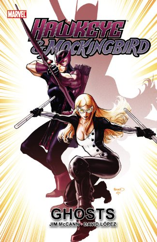 Hawkeye And Mockingbird: Ghosts Cover