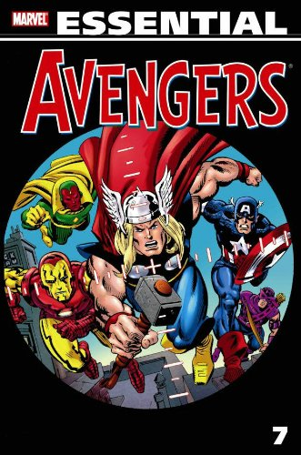 Essential Avengers Vol. 7 Cover