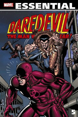 Essential Daredevil Vol. 5 Cover