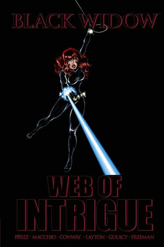 Black Widow: Web Of Intrigue Cover