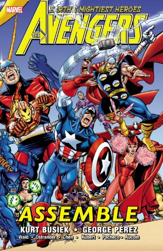 Avengers Assemble Vol. 1 Cover