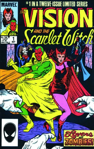 Avengers: Vision And The Scarlet Witch: A Year In The Life Cover