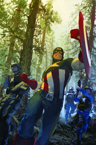 Captain America: Two Americas  Cover
