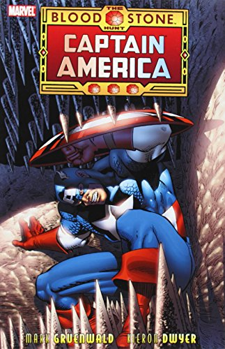 Captain America: The Bloodstone Hunt Cover