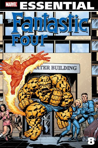Essential Fantastic Four Vol. 8 Cover
