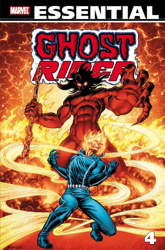 Essential Ghost Rider Vol. 4  Cover