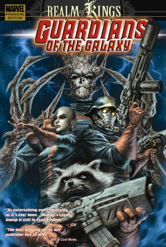 Guardians Of The Galaxy: Realm Of Kings Cover