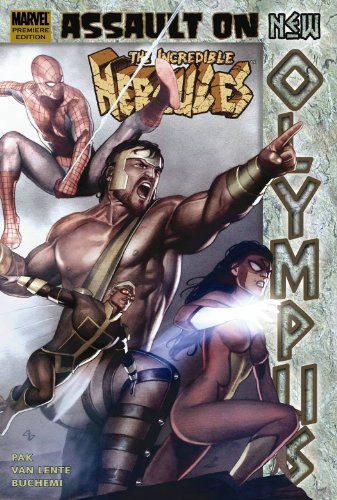 Incredible Hercules: Assault on New Olympus Cover