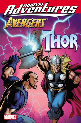 Marvel Adventures Avengers: Thor Cover