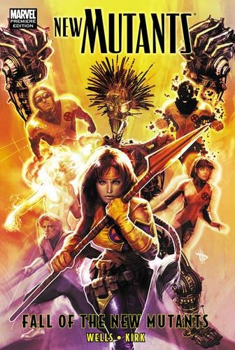New Mutants: Fall Of The New Mutants Cover