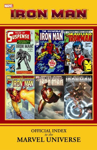 Iron Man: Official Index To The Marvel Universe Cover