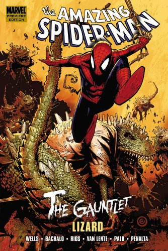 Spider-Man: The Gauntlet Book 5: Lizard Cover
