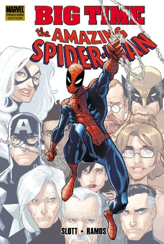 Spider-Man: Big Time Vol. 1 Cover