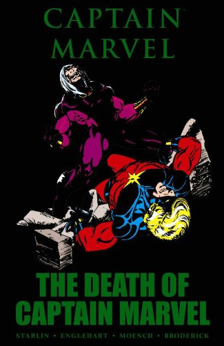 Captain Marvel: The Death Of Captain Marvel Cover