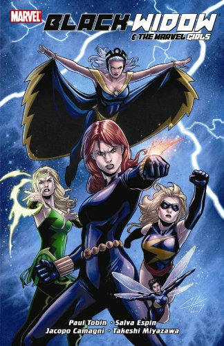 Black Widow And The Marvel Girls Cover