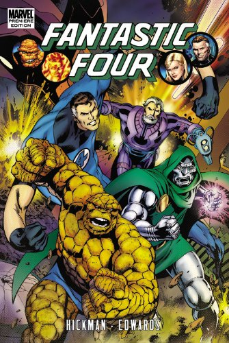 Fantastic Four by Jonathan Hickman Vol. 3 Cover