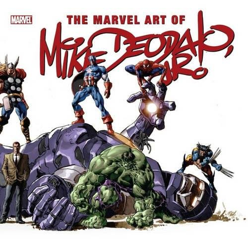 The Marvel Art Of Mike Deodato Cover