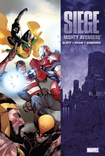 Mighty Avengers Vol. 7: Siege  Cover