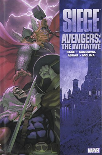 Avengers: The Initiative Vol. 6: Siege Cover