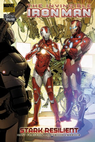 Invincible Iron Man Vol. 6: Stark Resilient Book 2 Cover