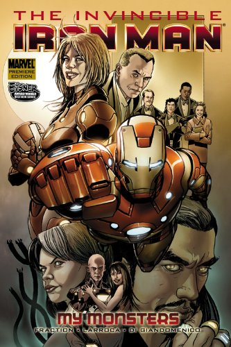 Invincible Iron Man Vol. 7: My Monsters Cover
